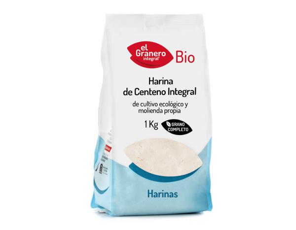 harina 1kg centeno