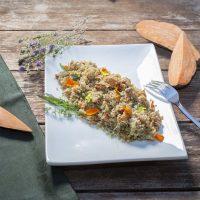Quinoa salad with Sweet Potato