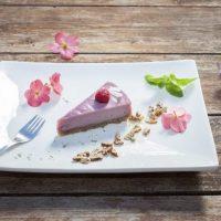 Raw Vegan Raspberry Cake