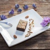 Vegan Chocolate & Peanut Brownie