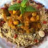 Vegan Cous Cous with Organic Vegetables
