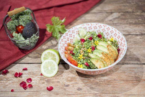 happy kale salad